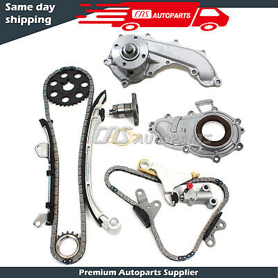 Toyota 2.7L Timing Kit, Balance Shaft Chain Set, Water, & Oil Pump 3RZFE Engine