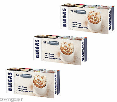 8g Whipped Cream Chargers - NOS Cream Dispeners - FREE Delivery, Dingas Brand
