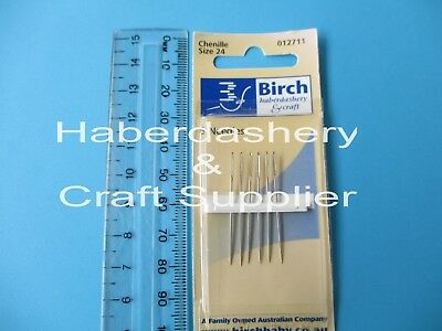 Hand Sewing Needles Chenille *size 24*4078