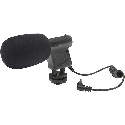 Vidpro Mini Condenser Microphone for Digital SLRs Camcorders & Video Cameras