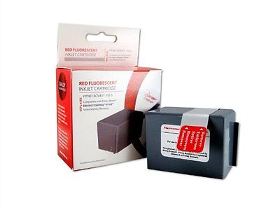 Pitney Bowes 793-5 Compatible Red Ink Cartridge For DM100i DM200 Free Shipping!