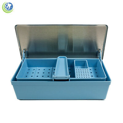 Germicide Large Tray Cold Sterilization Dental Medical Tattoo Instrument Zirc