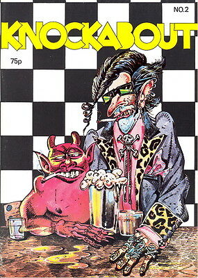 KNOCKABOUT No. 2 cover by S. Clay Wilson