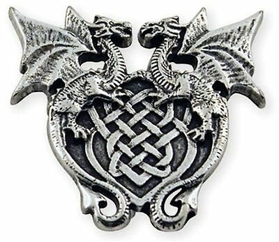 Winged Dragon Crest Screwback Concho 71507-04 by Tandy Leather