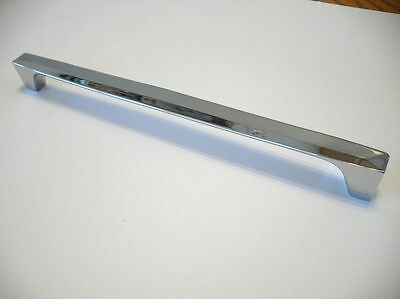 NEW Long Chrome Door Drawer Pull Oven safety Grab Rail Refrigerator Freezer