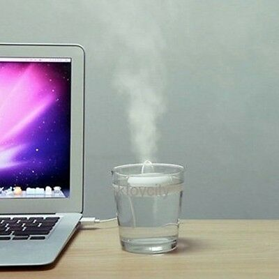 Creative Doulex Donut-Shaped Mini Usb Humidifier- Floats On The Water