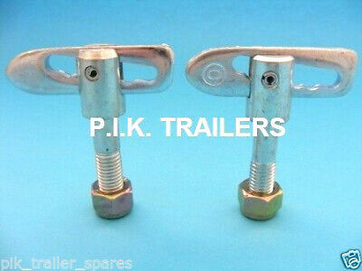 2 x Anti Luce M12 x 44mm Drop Catch Tail Gate Fastener - Trailer