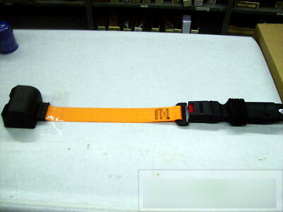 High Visibility Orange Forklift Seatbelt Seat Belt Nib
