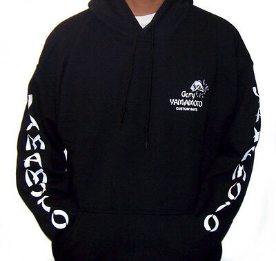 GARY YAMAMOTO LOGO HOODIE choose size and color