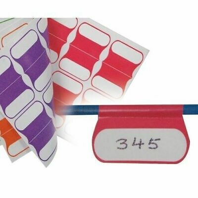 Cabac Cable Labels Multi color 100 PACK idendification Labels New CABLABELMC