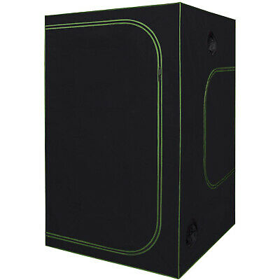 REFLECTIVE 5' x 5' x 7' HYDROPONIC INDOOR GROW ROOM TENT GREENHOUSE 100% Mylar