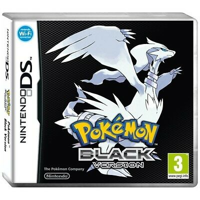 Pokemon Black Version NDS Game PAL *BRAND NEW!* + Warranty!