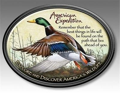 American Expedition Mallard Duck Wildlife Magnet Fridge Car Men's Father Gift