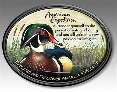 American Expedition Wood Duck Wildlife Magnet Fridge Car Men's Father Gift
