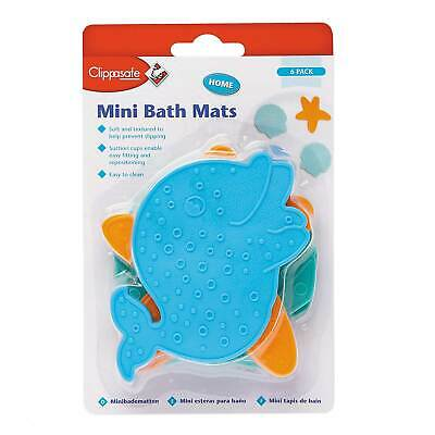 Clippasafe Mini Bath Mat Set - Baby/Toddler/Child/Bath Time