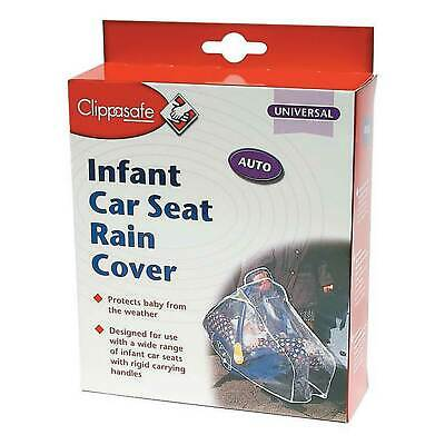 Clippasafe Universal Infant/Baby/Toddler Car Seat Rain Cover/Protector