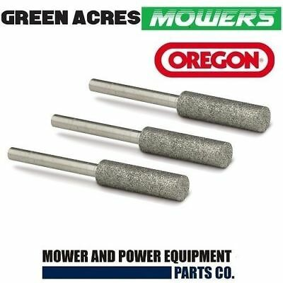 """Chainsaw Chain Sharpening Grinding Stones Genuine Oregon 7/32"""" For 3/8 Chain"""
