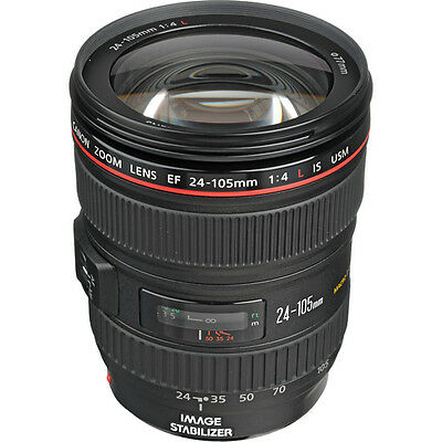 Canon Zoom Wide Angle EF 24-105mm f/4L IS - Brand New USA