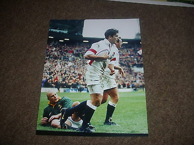 ENGLAND v SOUTH AFRICA  Twickenham Rugby Union 29/11/97  Original PRESS Photo