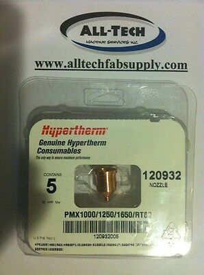 Hypertherm Nozzle (pack of 5) #120932