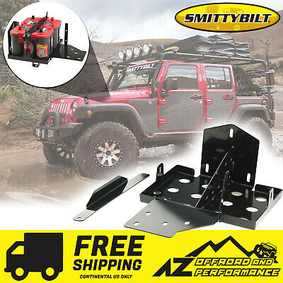 Smittybilt Dual Battery Tray 07-11 Jeep Wrangler & Unlimited 2799