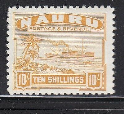 Nauru Scott # 30 VF  lightly hinged scv $ 140 ! see pic !