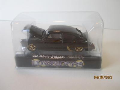'50 Olds Sedan Issue 6 Lowriders Collectable Diecast Black & Gold