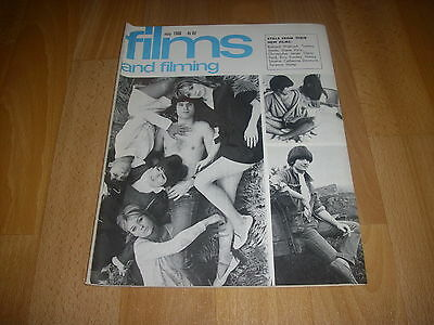 FILMS & FILMING Movie Magazine - David McBride The UNTOUCHABLES  cover May 68
