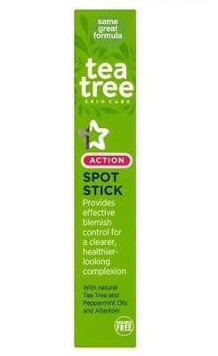 Superdrug Tea Tree Peppermint Oils Blemish Spot Acne Stick (BUY 2 GET 1 FREE)