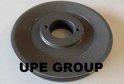 "Cast Iron pulley SHEAVE 6.25"" for electric motor 1 groove for B & 5L  5/8  belts"