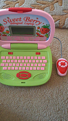 Sweet Berry learning Bilingual educational works laptop (tbl3)