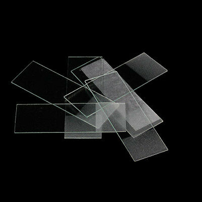 50 × Microscope Glass Slides Lab Supplies Biology Histology LC309