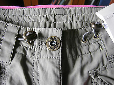 cherokee combat pants size 8 military style colour olive drab