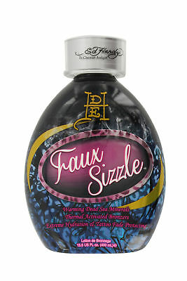 Ed Hardy Faux Sizzle Thermal Bronzer with Dead Sea Minerals Sunbed Lotion 400ml