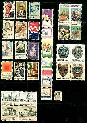 1980 Commemorative Year set   (31 Stamps) - MNH