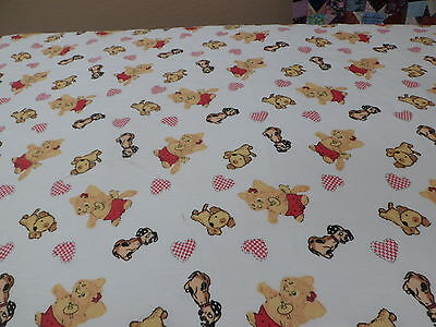 ** One** Puppies, Kitties, Hearts And Crib/toddler  Fitted Sheet