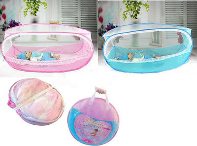 Portable Baby Kid Infant Nursery Travel Pop Mosquito Net Bed Crib Canopy Tent