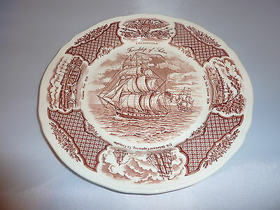 """Alfred Meakin Staffordshire England FairWinds Historical Chinese Scenes Plate10"""""""