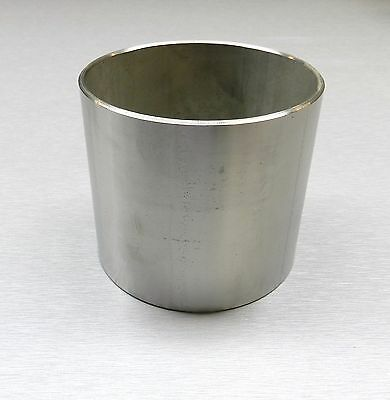"FLASK JEWELRY INVESTMENT CASTING 4"" x 3-1/2"" SOLID 1/8"" THICK STAINLESS STEEL"