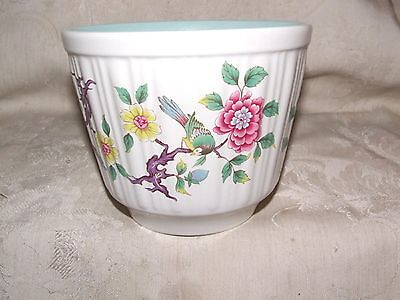 1960s James Kent Old Foley CHINESE ROSE Medium Cachepot 4 5/8 High Staffordshire