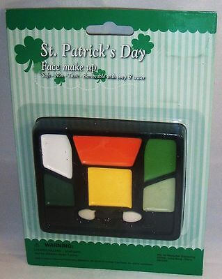 St. Patrick's Day  Face Make Up Great for kids Dress Up!   Safe Non Toxic