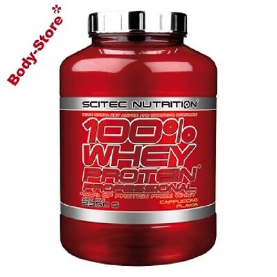 Scitec Nutrition(18,68€/kg) 100%Whey Protein Professional 2350g2,35kgPLUS SHAKER