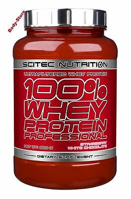 Scitec Nutrition(25,92€/kg) 100% Whey Protein Professional 920g Dose PLUS PROBE