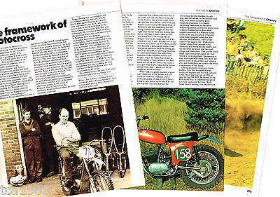 ERIC CHENEY (UK) MOTORCYCLE Article/Photo's/Picture's