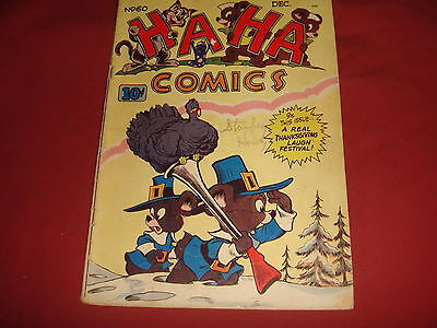 HA-HA COMICS #60 Golden Age Funny Animal Creston Publications   1948 VG+