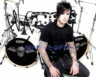 JAMES THE REV SULLIVAN AVENGED SEVENFOLD SIGNED 10x8 PP REPRO PHOTO PRINT