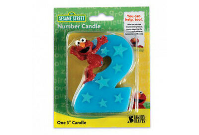Elmo Birthday candle number 2 CAKE DECORATING TOOLS SUPPLY SUPPLIES