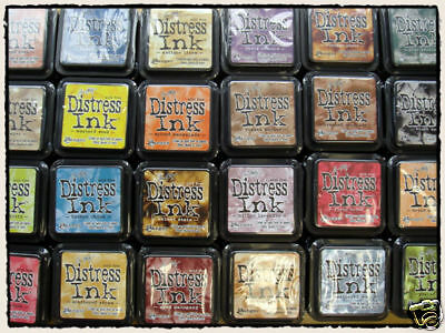 Tim Holtz Distress Ink Stamp Pad pads You pick 10