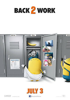 Brand New Movie Poster Print - Despicable Me 2 A3 / A4