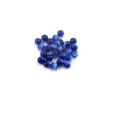8mm Cats Eye Beads - 25 beads - Choose Color